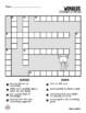 Wonders Vocabulary Crossword Puzzles 3rd Grade
