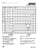 Wonders Vocabulary Crossword Puzzles 3rd Grade