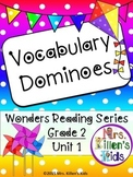 Wonders Vocabulary Dominoes, Grade 2, Unit 1 (Weeks 1 - 5)