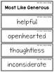 Wonders Vocabulary: Fourth Grade Unit 3, Week 2