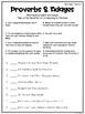 Wonders Vocabulary: Fourth Grade Unit 5, Week 5