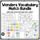 Wonders Vocabulary Match Grade 2