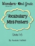 Wonders Vocabulary Mini-Posters
