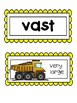 Wonders, Vocabulary Packet, Unit 5, 1st Grade