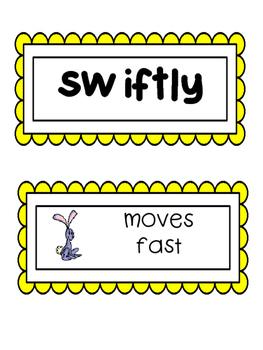 Wonders, Vocabulary Packet, Unit 6, 1st Grade
