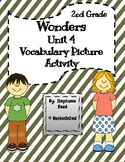 Wonders Vocabulary Picture Activity Unit 4 2nd Grade