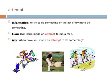 Wonders Vocabulary PowerPoint