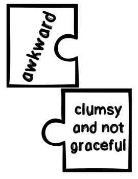 Wonders Vocabulary ~ Puzzle Words~Unit 2 Week 1