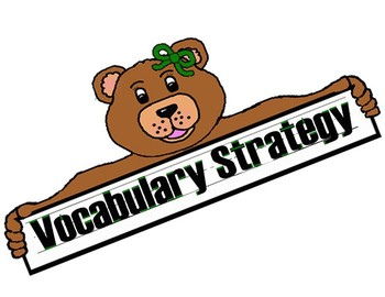Wonders Vocabulary Strategy Bulletin Board for all Six Units
