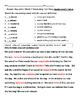 3rd Grade Wonders Vocabulary Unit 2 Week 1 test/practice