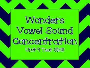 Wonders Vowel Sound Concentration