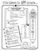 Wonders Weekly Information Sheets - UNIT 1