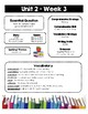 Wonders Weekly Newsletters (Grade 3, Unit 2)