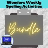 Wonders Weekly Spelling Activities, Units 1-4, 5th Grade