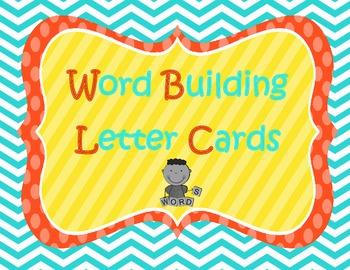 Wonders Word Building Letters