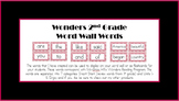 Wonders Word Wall (2nd Grade)