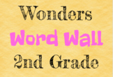 Wonders Word Wall - 2nd Grade