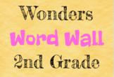 Wonders Word Wall - 2nd Grade