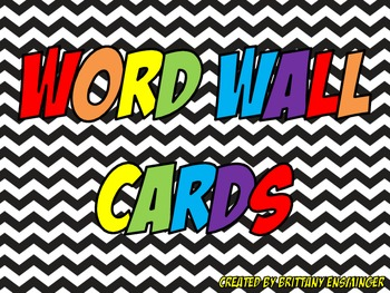 Word Wall Vocabulary Cards - 4th Grade McGraw Hill Wonders