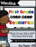 Wonders Word Wall Resource for First Grade