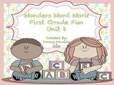 Wonders Word Work 1st grade Unit 2 FunFunFun