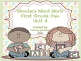 Wonders Word Work 1st grade Unit 3 FunFunFun