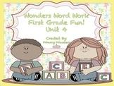 Wonders Word Work 1st grade Unit 4 FunFunFun