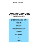 Wonders Word Work- Compatible for ALL Units