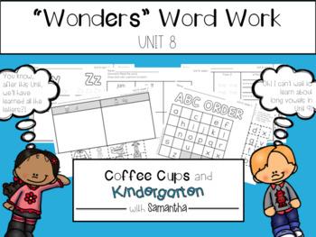 Wonders Word Work Unit Eight (NO PREP!)