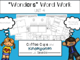 Wonders Word Work Unit Four (NO PREP!)