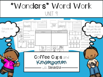 Wonders Word Work Unit Nine (NO PREP!)