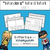 Wonders Word Work Unit One (NO PREP!)