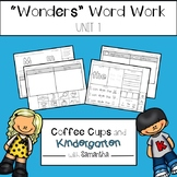 Wonders Word Work Unit One (NO PREP!)