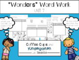 Wonders Word Work Unit Seven (NO PREP!)