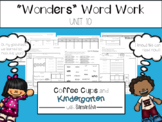 Wonders Word Work Unit Ten (NO PREP!)