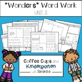 Wonders Word Work Unit Three (NO PREP!)