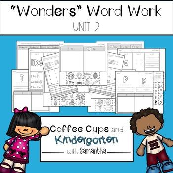 Wonders Word Work Unit Two (NO PREP!)