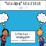 Wonders Work Work Units 1-5 BUNDLE (NO PREP!)