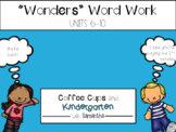 Wonders Work Work Units 6-10 BUNDLE (NO PREP!)