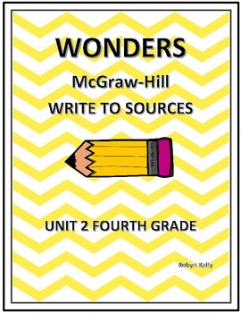 Wonders Write to Sources 4th Grade Unit 2