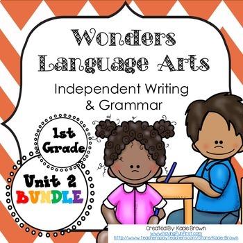 McGraw-Hill Wonders Writing: 1st grade Language Arts- Writing and Grammar Unit 2