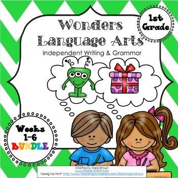 Wonders Writing 1st grade Language Arts Writing and Grammar Unit 5