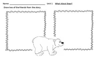 Wonders Writing Activities Unit 1 -9