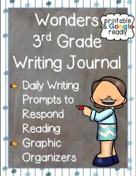 Wonders Writing Journal: Third Grade Unit 1