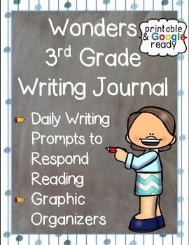 Wonders Writing Journal: Third Grade Unit 5