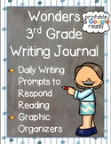 Wonders 3rd Grade: Writing Journal for the Whole School Year