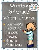 Wonders 3rd Grade: Writing Journal Bundle - Printable & Distance Learning