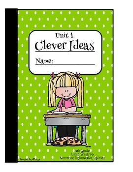 McGraw Hill Wonders Writing Journal Unit 1- 4th Grade