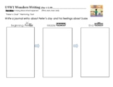 Wonders Writing Kindergarten Unit 9 Maps
