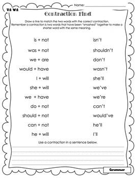 Wonders Writing and Grammar 1st Grade Unit 2 Week 2